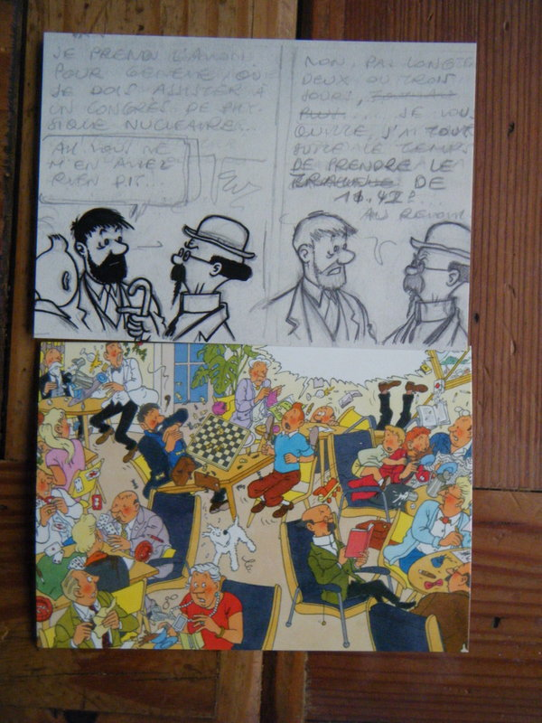 acquisition et collection RG et tintin de Jean Claude - Page 8 Dscf4850