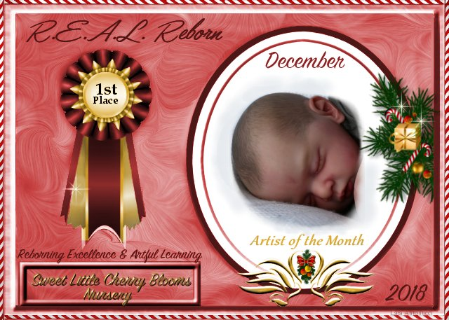 2018 AOTM DECEMBER Contest Winner Logo Angela of Sweet Little Cherry Bloom Nursery Decemb12