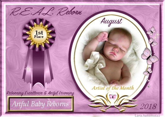 2018 AOTM August Contest Winner LOGO - Priscilla Anne (bornannew) of Artful Baby Reborns  Logo_a10