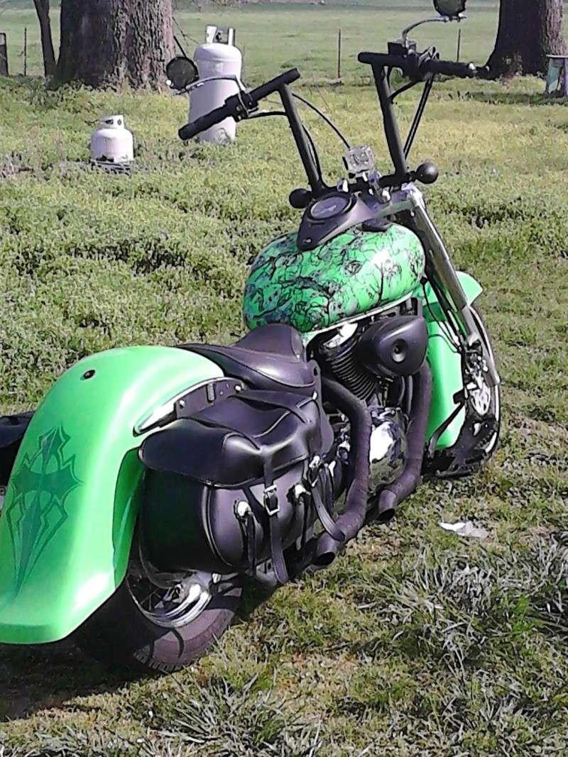 My Old School style .......... 2002 Suzuki VL800 89572111