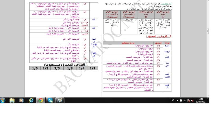 الاولى سلك بكالوريا علوم تجريبية التربية الإسلامية Islami13