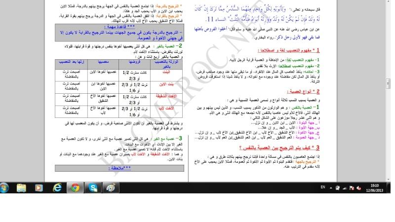 الاولى سلك بكالوريا علوم تجريبية التربية الإسلامية Islami15