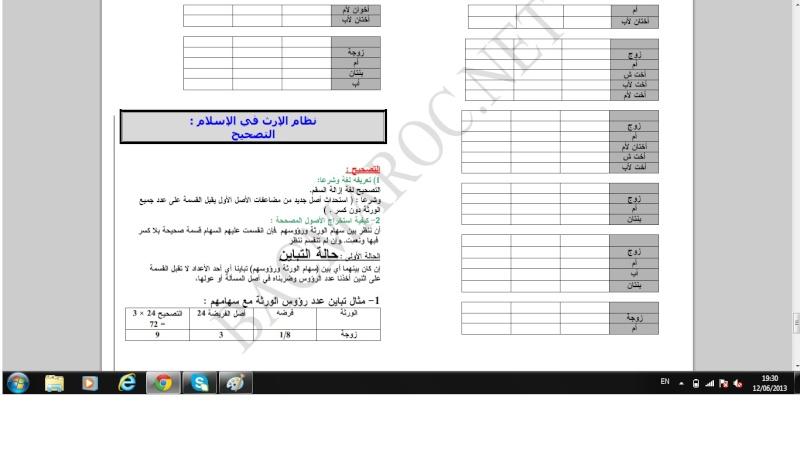 الاولى سلك بكالوريا علوم تجريبية التربية الإسلامية Islami21