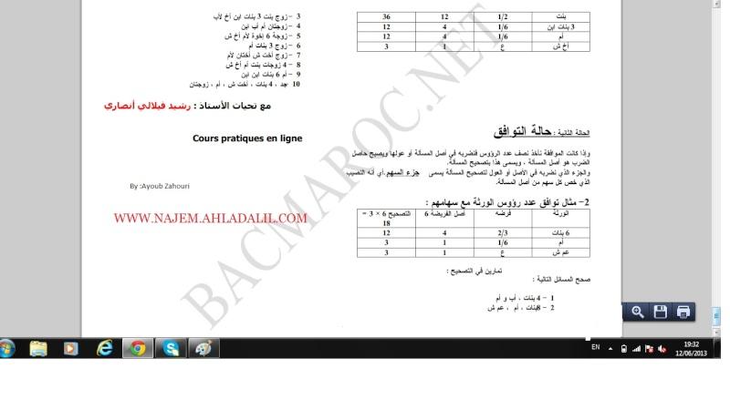 الاولى سلك بكالوريا علوم تجريبية التربية الإسلامية Islami22