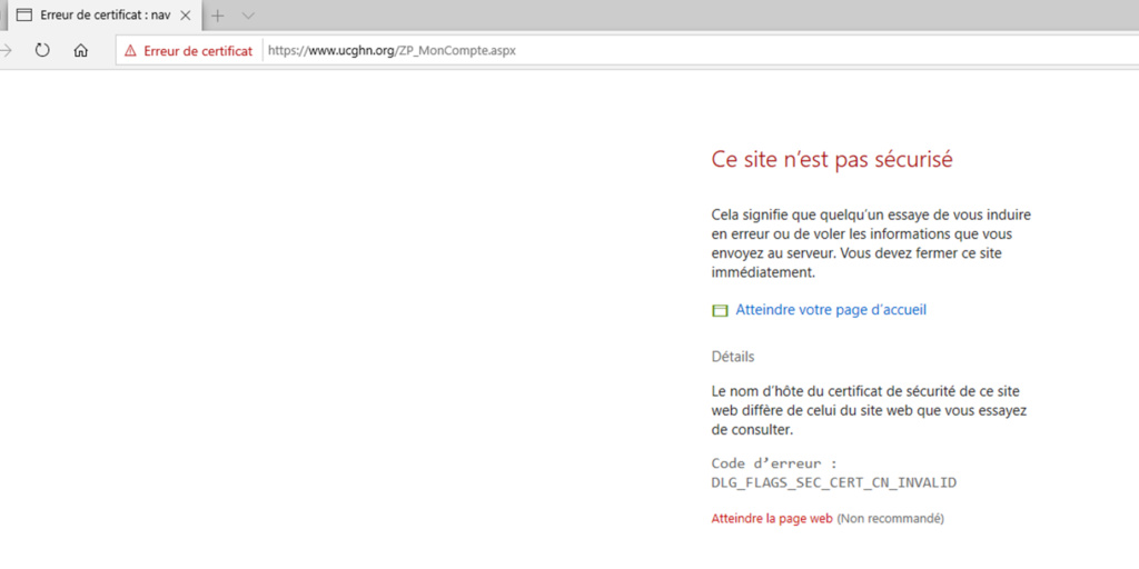 Erreur certificat site UCGHN Bug_uc11