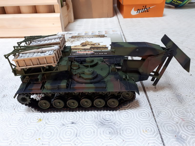 M 48 A5 Armoured Vehicule Launched Miclic - 1/35 [Hobby Fan] - Page 3 20200827