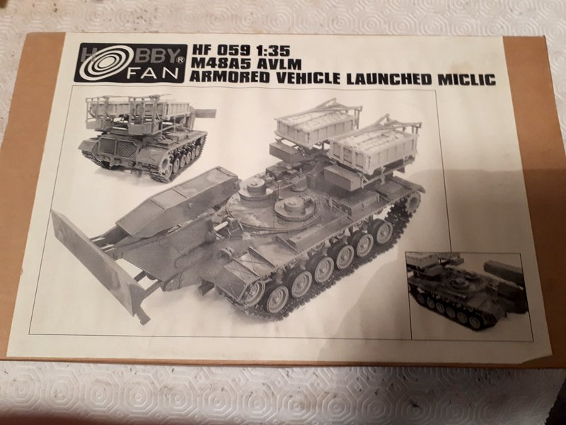 M 48 A5 Armoured Vehicule Launched Miclic - 1/35 [Hobby Fan] Downlo12