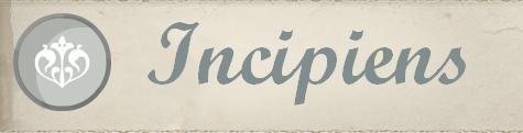 La Constitution de l'Incipiens Incipi12