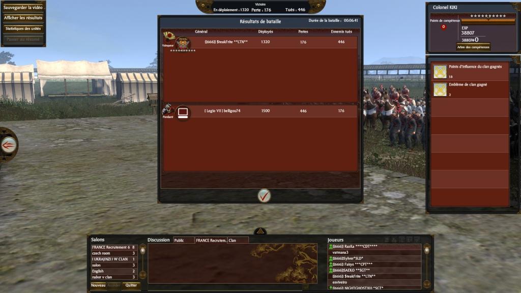 SteakFrite VS [legio VII] 2013-014