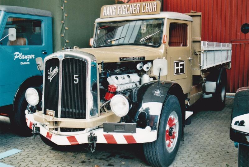 Saurer moteur V8 Camion40