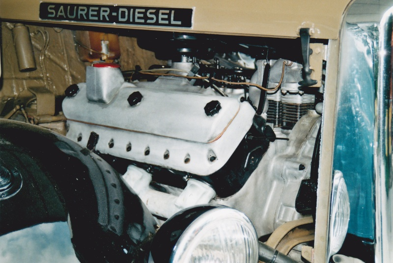 Saurer moteur V8 Camion41