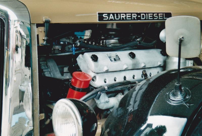 Saurer moteur V8 Camion42