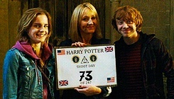 Montage image Harry Potter Shoot Day Tumblr11