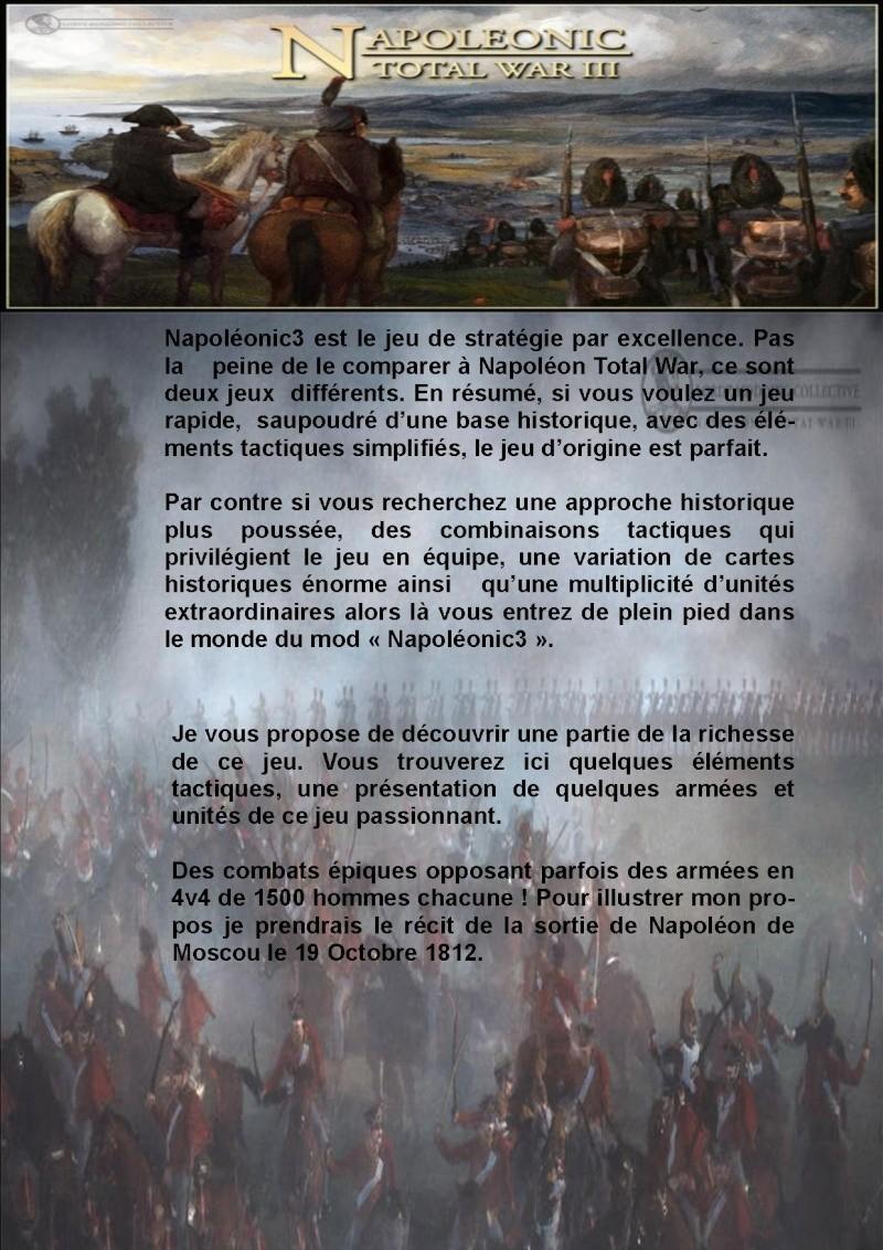 Présentation de NapoléonicIII et Tuto pour débutants Foruma10