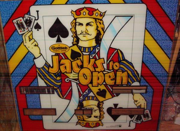 restauration FLIPPER : JACKS TO OPEN Flippe13