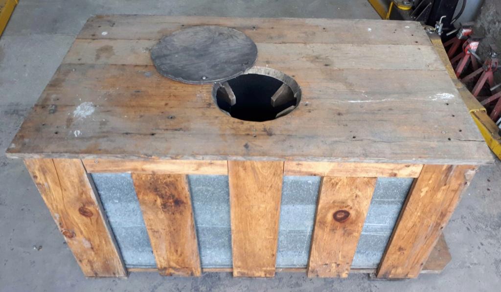 Réservoir ramassage d'eau d'érable Tank210