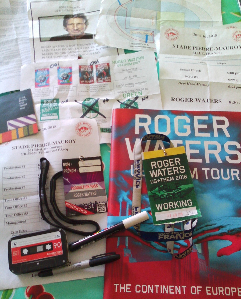 ROGER WATERS - Lille - Stade Pierre Mauroy - 16 juin 2018 - Page 6 12312311