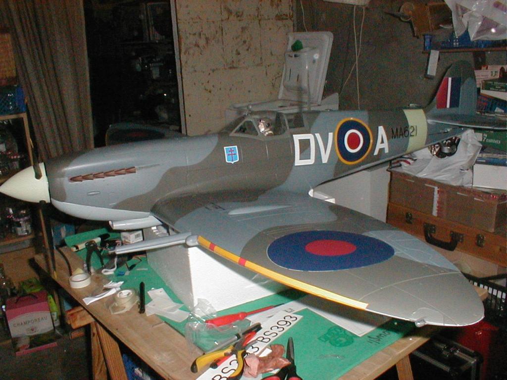 Supermarine Spitfire Mk. IX 1600 PNP - Page 3 P1010034