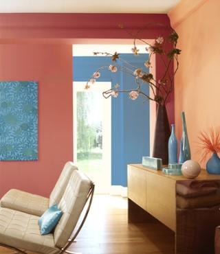 Pour confirmer choix des couleurs du couloir, prévision des couleurs de la chambre Salon_10