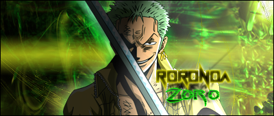 my awesome signatures. - Page 4 Zoro_413