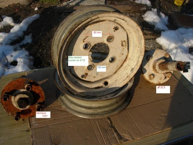 fabrication montage roue sur t45 Dscn0413