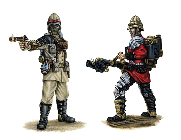 [Steampunk] Soldats Steampunk Dl-kb-12