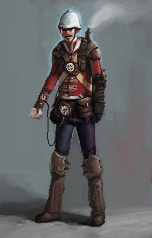 [Steampunk] Soldats Steampunk Male-c10