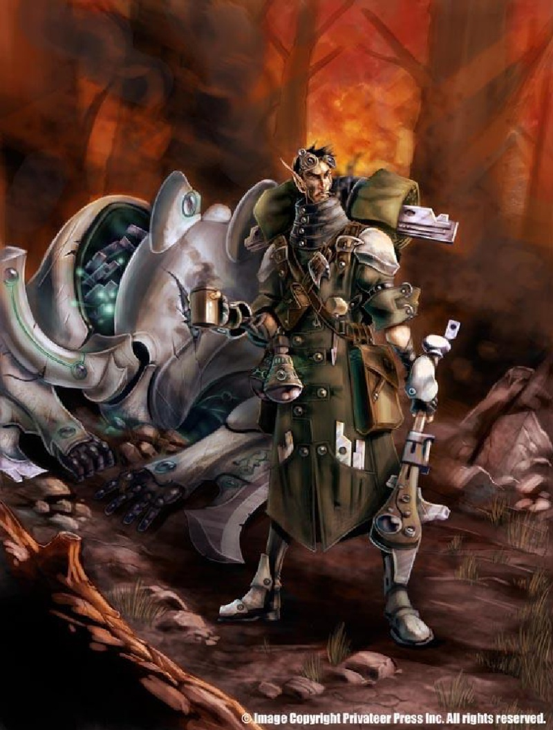 [Steampunk] Soldats Steampunk Warmac11
