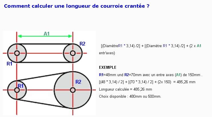3 - La transmission par chaîne et pignons (avec démultiplication) Calcul10