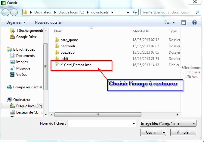 [X-Card] Image SD Card contenant des démos Usbit310