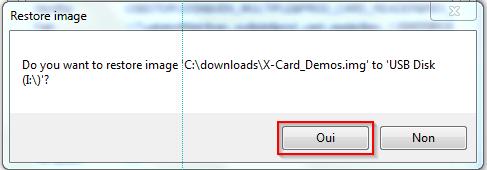 [X-Card] Image SD Card contenant des démos Usbit410