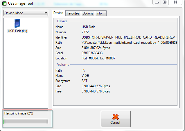 [X-Card] Image SD Card contenant des démos Usbit510
