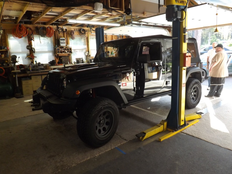 Bills MOAB Edition Jeep build After11