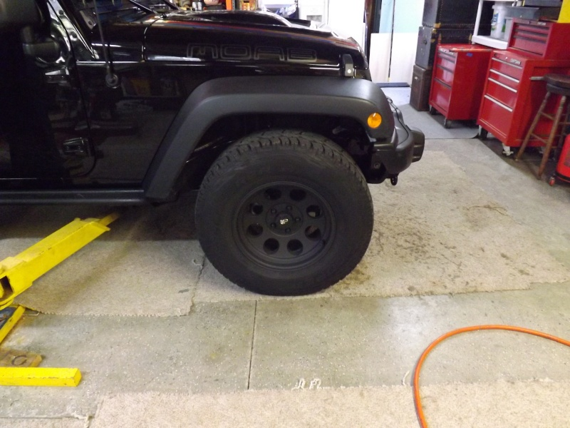 Bills MOAB Edition Jeep build Before17