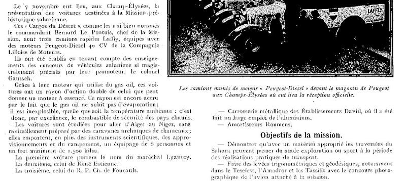 Peugeot et le camion diesel Expor140