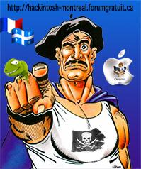Capitaine Hackintosh Superd10