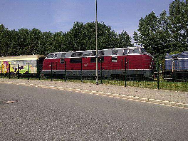 V200 017 und Loks der Peine-Salzgitter in Hattingen 19.06.13 132