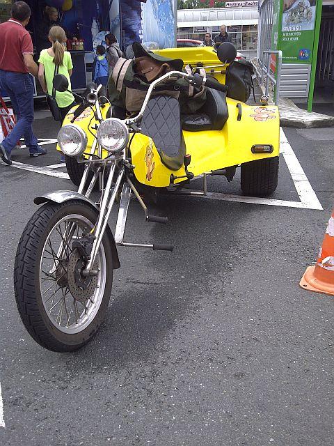 Trike - Schnappschuss auf dem Parkplatz 1513