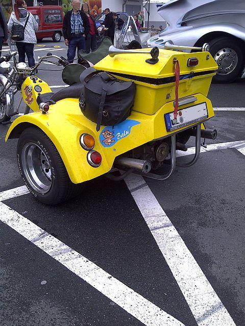 Trike - Schnappschuss auf dem Parkplatz 1612