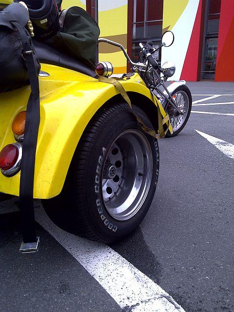 Trike - Schnappschuss auf dem Parkplatz 1713