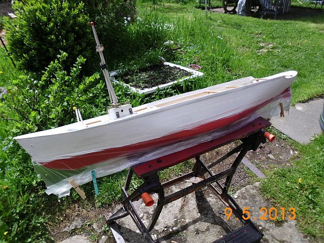 Robbe Cap Domingo 1/100 - Aufarbeit / Restaurierung 19_wei10