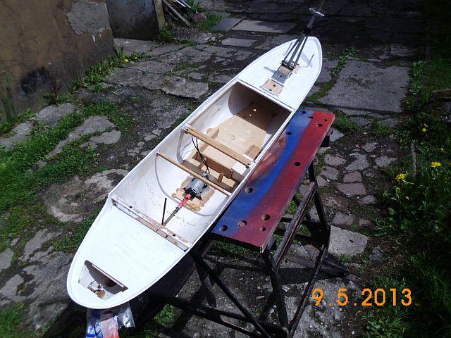Robbe Cap Domingo 1/100 - Aufarbeit / Restaurierung 2010