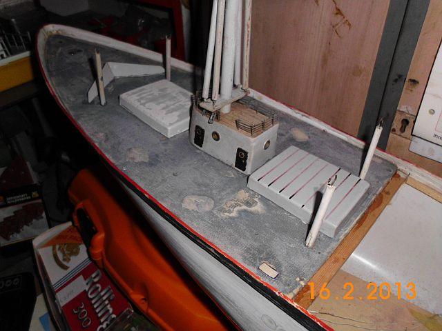 Robbe Cap Domingo 1/100 - Aufarbeit / Restaurierung 313