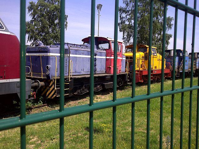 V200 017 und Loks der Peine-Salzgitter in Hattingen 19.06.13 5a10