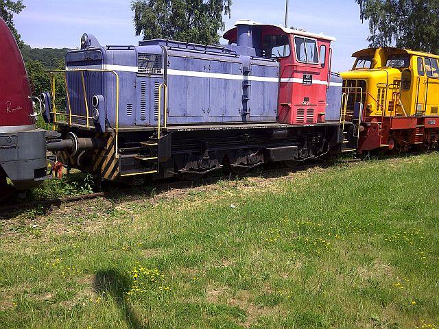 V200 017 und Loks der Peine-Salzgitter in Hattingen 19.06.13 5c11