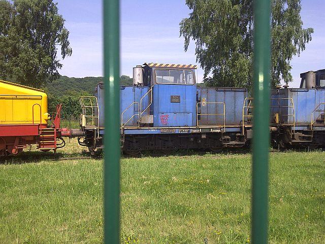 V200 017 und Loks der Peine-Salzgitter in Hattingen 19.06.13 814