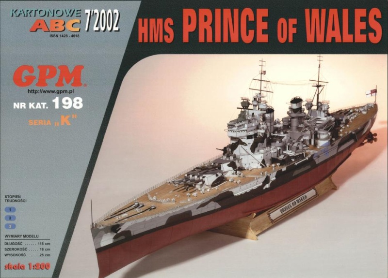 Revue de Kit : Le Prince of Wales au 1/350 Tamiya Cover_10