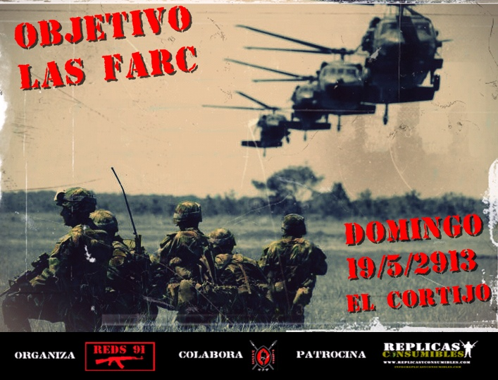 """OBJETIVO LAS FARC"" DOMINGO 19 EN EL CORTIJO Objeti10"
