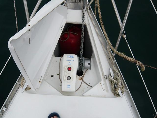 Télécommande sans fil du guindeau P1000710