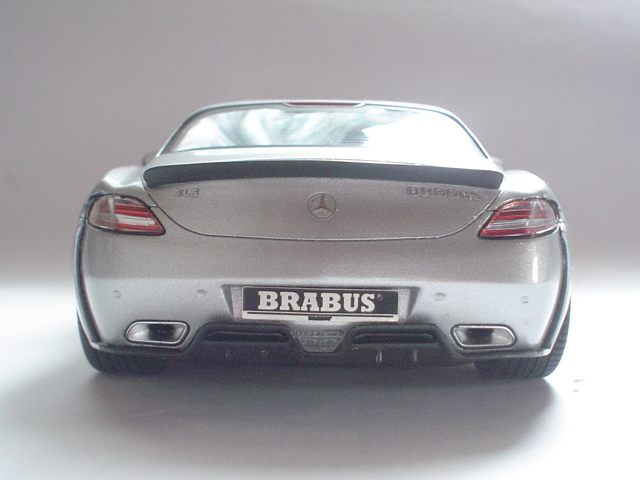 Mercedes SLS - Brabus Version Modeli13
